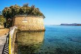 Venetian fortification in Chania — Stock Photo