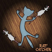 Rat Catcher — Vetorial Stock