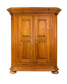 Baroque wooden cabinet — Stock Photo