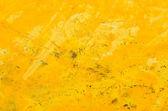 Yellow abstract acrylic background — Stock Photo