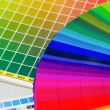 Color guide and color fan — Stock Photo