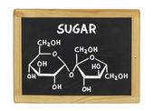 Formula chimica del thc su una lavagna — Foto Stock