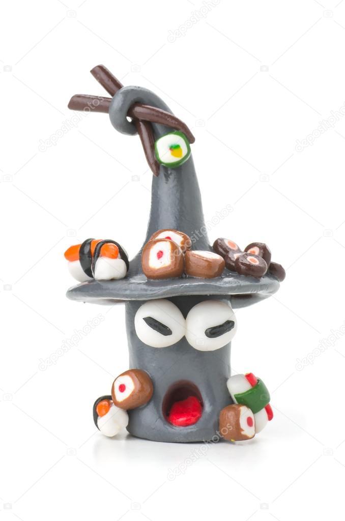 Моделирование глины цифра суши ручной ...: ru.depositphotos.com/25402485/stock-photo-handmade-modeling-clay...