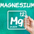 Symbol for the chemical element magnesium — Stock Photo #30592713