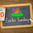Easter Sunday 2014, April 20 — Stock Photo