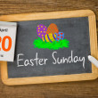 Stock Photo: Easter Sunday 2014, April 20