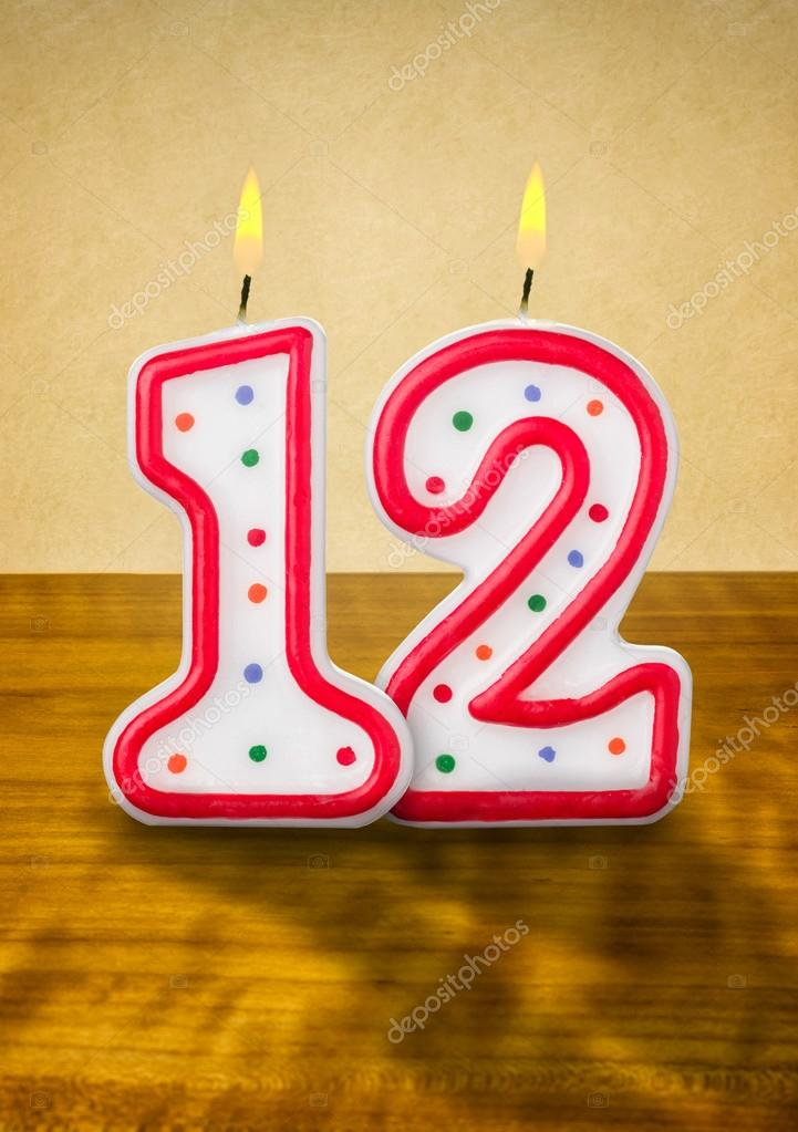Number 12 Birthday Images