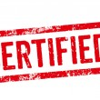 Red Stamp - Certified — Stock Photo #45989273