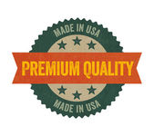 Label with the text Premium Quality — Stock Photo