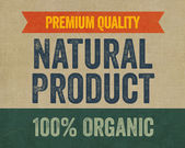 Premium Quality - Natural Product — Stockfoto