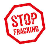 Red Stamp - Stop Fracking — Stockfoto