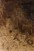 Detail of an abstract acrylic painting — Stock Photo