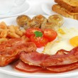 English breakfast — Stock Photo #12598608