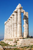 Starożytna świątynia w grecji — Zdjęcie stockowe