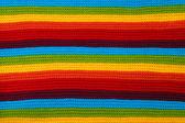 Colorful stripes fabric — Stock Photo