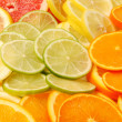 Sliced citrus fruit — Stock Photo