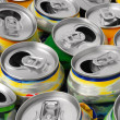 Empty cans — Stock Photo #12622477