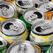 Empty cans — Stock Photo