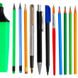 Pens and pencils — Stockfoto #12633976