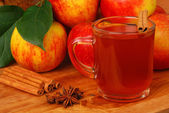 Apple cider — Stock Photo