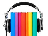 Audio book concept — Stock Photo