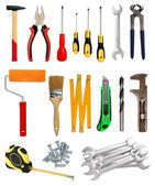 Tools collection — Stock Photo