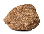 Rock geïsoleerd — Stockfoto