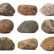 Rocks isolated on white — Stockfoto #13612546