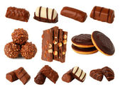 Chocolate and chocolates — Stock Photo