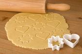 подготовка печенье — Стоковое фото