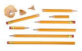 Colección de lápices — Foto de Stock