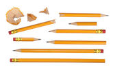 Pencils collection — Foto de Stock