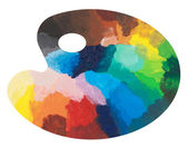 Colorful palette — Stock Photo
