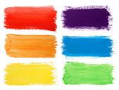 Trazos de pincel banners — Foto de Stock