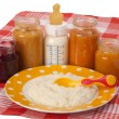 Baby meal — Stock Photo #14016363