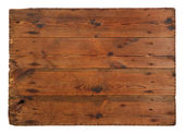 Old, grungy wooden board — Stock Photo