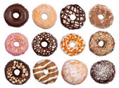 Donuts collectie — Stockfoto