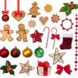 Christmas decoration collection  — Stock Photo
