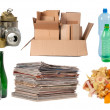 Garbage that can be recycled - Stock Photo
