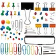 Pins and paper clips collection — Stock Photo #22848910