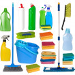 Janitorial equipment - Stok fotoğraf