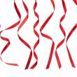 Red ribbons - Foto de Stock  