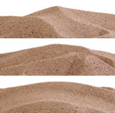Sand borders — Stock Photo