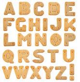 Kex bokstäver isolerad på vit bakgrund — Stockfoto
