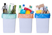 Recycling rubbish — Stock Photo