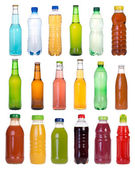 Drinks in bottles — Stock Photo