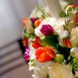 Wedding candles — Stock Photo