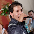 IuliVasile sings for crowd — Stock Photo #12229688