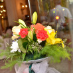 Wedding arrangement — Stock Photo #12694662