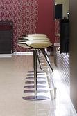 Bar stools — Stock Photo